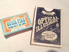 Quick-Fire Quiz & Optical Illusions - Family Fun Games