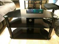Small glass TV stand.gone pending collection