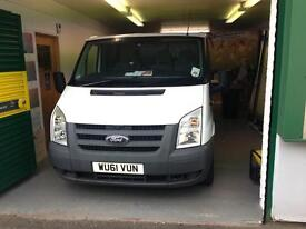 Ford Transit 115ps, roof rack, ply lined and racked out