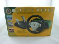 BOXED GAMESTER LOTUS STEERING WHEEL FOR ORIGINAL XBOX - TESTED/WORKING- EXCELLENT COND