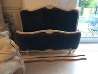 Beautiful French Double with Base and matching chair