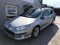 PEUGEOT 407 SW HDI X-LINE ONLY 96k MILES £1795!!