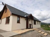 Modern fully furnished 4 bedroom house to rent close to Fort William