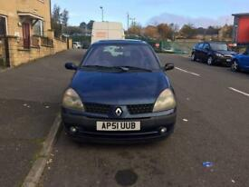 Renault Clio 1.4 petrol, 12 months mot