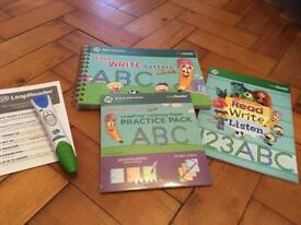 Leap Reader pen and books
