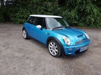 2004 MINI COOPER S 1.6 CHILLI SUPERCHARGED FULL LEATHER ! AIR CON ! FULL S/HISTORY ! MOT 02/2018