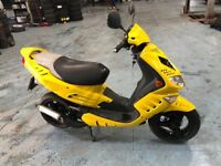 Peugeot speedfight 50cc 2008 scooter moped stage 6 new Mot