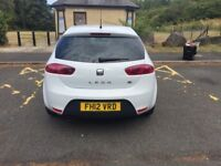 2012 SEAT Leon 2.0 TDI CR FR 5dr, Great Condition, Full service history, White, 3 owners.