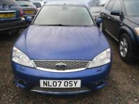 FORD MONDEO 2.2TDCi 155 ST 5dr FULL YEARS MOT. A NICE ONE.94K MILES (blue) 2007