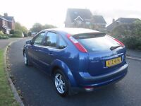 2007 ford focus lx tdci 1 lady owner fsh stamped driving perfect no faults mot,d lovely car thruout