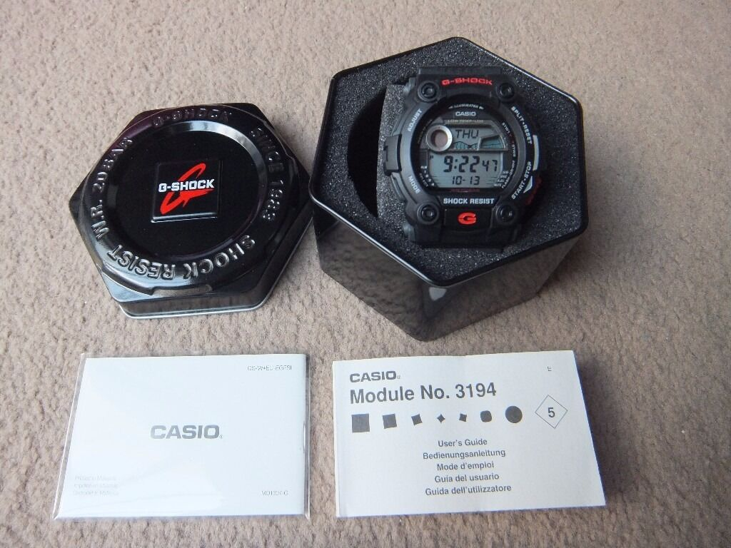 New In Box Casio G Shock Watch Black G 7900 1er Tide