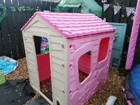 Pink playhouse