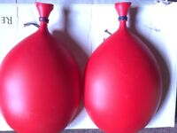 Balloon Wall Lights - Red wall lights for children room or a play room