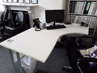 Office Desks x 2 - Collection Only, Cash on Collection Only