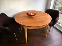 Mid Century Vintage Teak Extending Dining Table