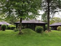 Rental at Cameron House, Loch Lomond, 2 bedroom detached lodge sleeping 6 with loch views.