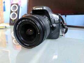 Canon EOS 550D DSLR Camera, Great Condition, Including EF-S 18-55MM Lens