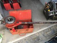 "Presto pipe threading kit. 1/2"" - 1-1/4"" iron plumbing"