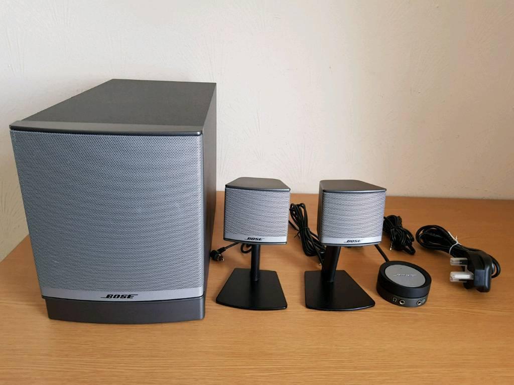 Bose Companion 3 Series Ii 2 1 Audio System