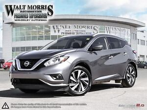 2016 Nissan Murano Platinum - LEATHER, HEATED/COOLED SEATS, NAV.