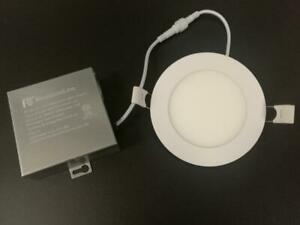RecessedLine 4 LED flat panel light 9W Dimmable