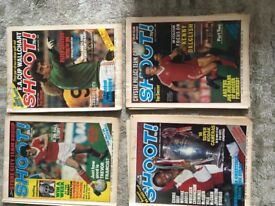 Shoot! Football supporters Magazines
