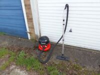 HENRY HOOVER VACUUM CLEANER HVR 200-22,,TWIN SPEED,,RED HENRY,,USED,,