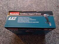 Makita 18X LXT IMPACT DRIVER (bare unit)