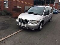 chrysler grand voyager stow and go model crd