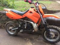 Ktm 50 2001 50cc scrambler dirt bike