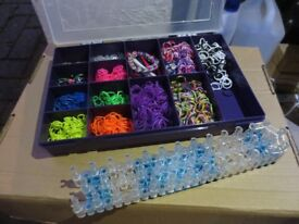 Loom Bands with storgae box