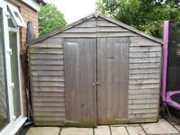 Bike shed in great condition only 1.5 yrs old.