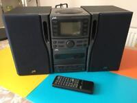 JVC mini hi-fi set (Sold-pending on collection)