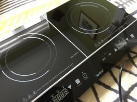 Von Chef 2800W Twin Induction Hob
