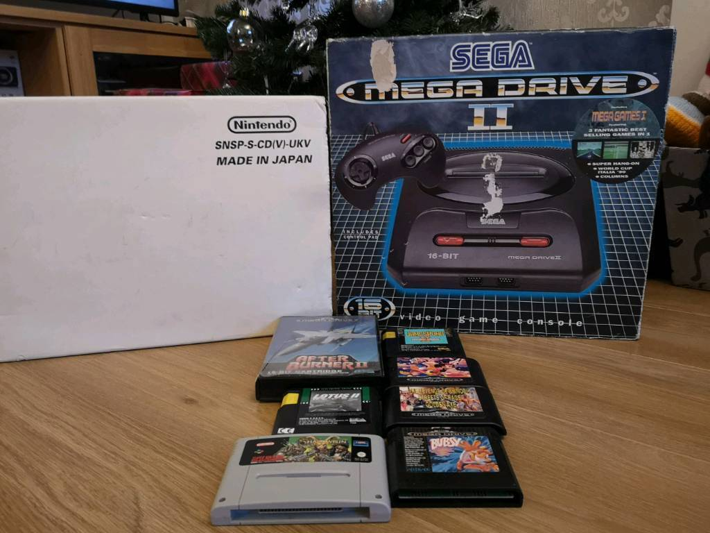 Super Nintendo and Sega megadrive with games | in High Green, South  Yorkshire | Gumtree