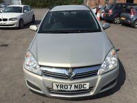 Vauxhall Astra 1.3 CDTi 16v Life 5dr 2007 (07 reg), Estate(30 days warranty)£1299