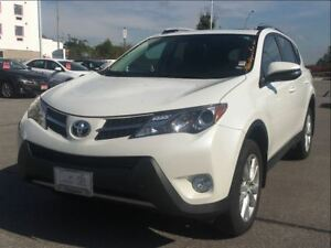 2015 Toyota RAV4 Limited|ONE OWNER|LOW KM!