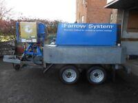 Mobile Sandblaster Farrow System