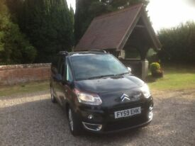 citroen c3 picasso 1.6 hdi diesel exclusive 50k 2009