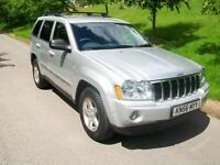 Jeep Grand Cherokee 3.0 CRD Limited 5dr Auto (silver) 2006