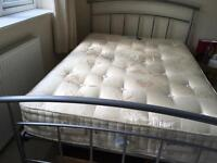 King size bed for sale - firm, pocket sprung mattress