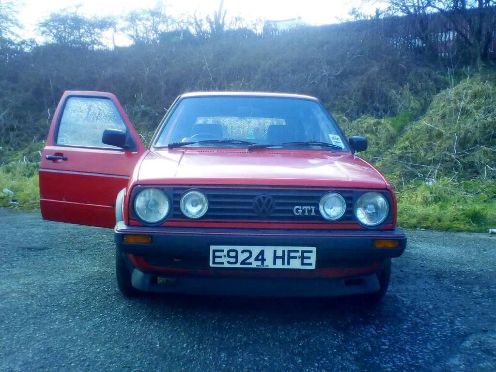 Golf mk2 Gti Complete Car. Breaking. | in Staveley, Derbyshire ...