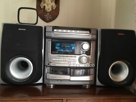 Aiwa cd player/stereo