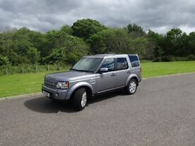 2012 Land Rover Discovery 4 XS Full year MOT recently serviced new tyres