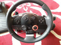 Logitech Driving Force GT steering wheel PS3,PS2 and PC