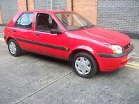 2002 Fiesta Finesse 1.3 with Years MOT