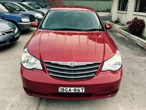 2008 Prestige Chrysler Sebring Touring LONG REGO Logbooks Mags A1 Sutherland Sutherland Area Preview