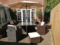 All weather rattan garden furniture