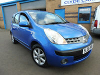 2006 (56) Nissan Note 1.4 SE 51k miles + Full Service History + 1 lady owner