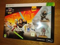 Xbox 360 Disney Infinity 3.0 Star Wars Starter Set 100% Complete With Box As New Condition